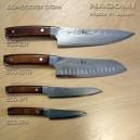 """Нож """"шеф"""" 210мм с красной ручкой NAGOMI"""
