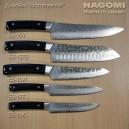 """Нож """"шеф"""" 210мм с черной ламинированной ручкой NAGOMI, дизайн """"Hammer-HIT"""""""