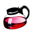 """Чайник """"Яна"""" 1,3л. Цветные крышка и ручка.  Жаропрочное стекло.  Simax"""